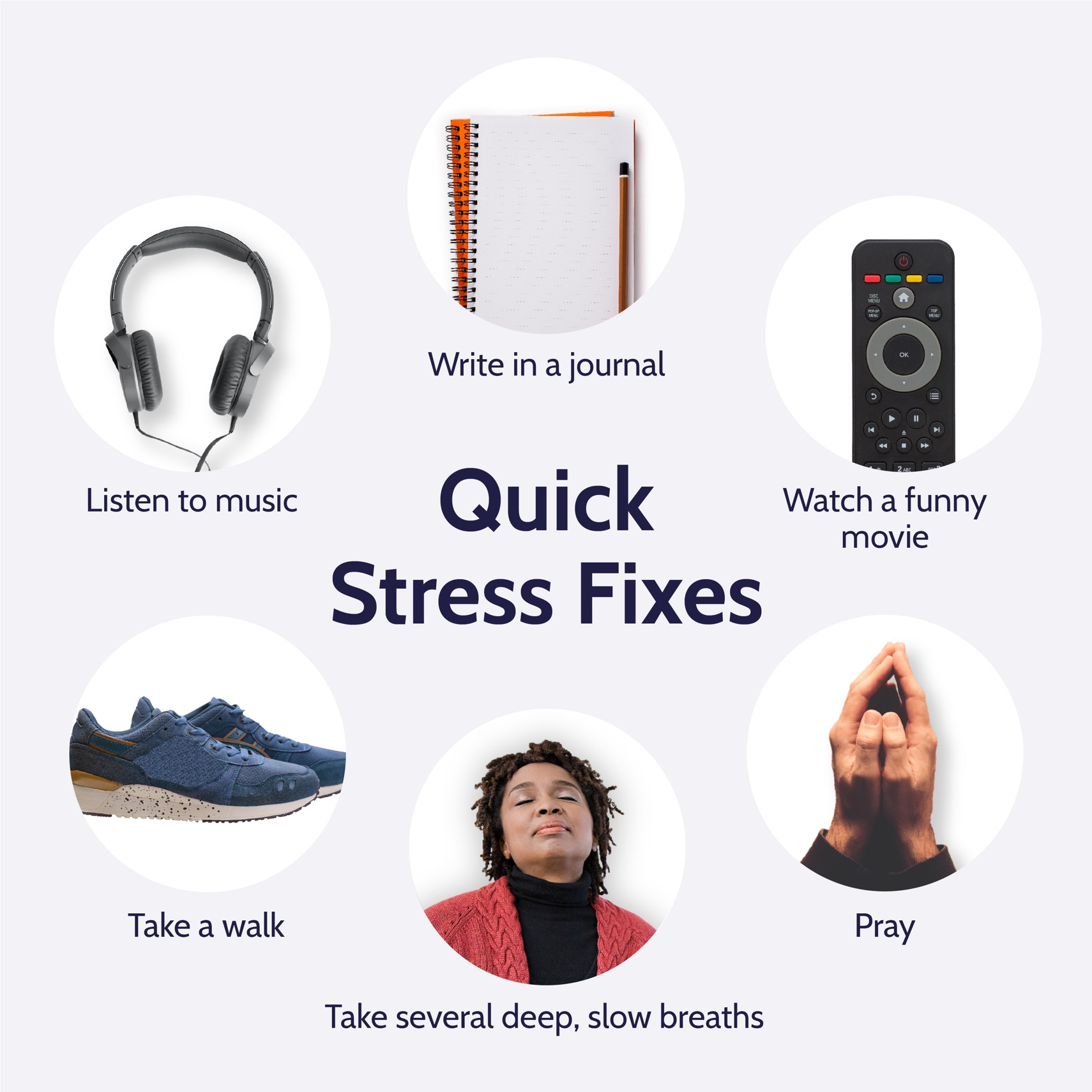 Quick Stress Fixes